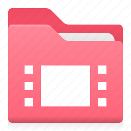 cadr, document, film, folder, movie, office icon