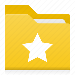 document, famose, favorite, folder, office, star icon
