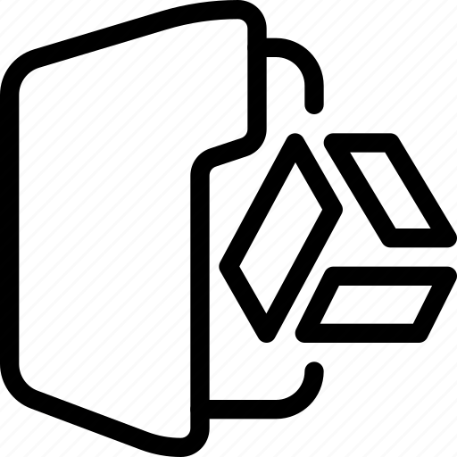 document, drive, file, folder, store icon