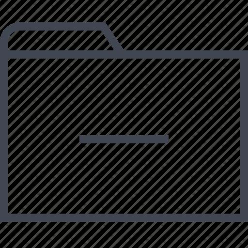archive, files, folder, single icon