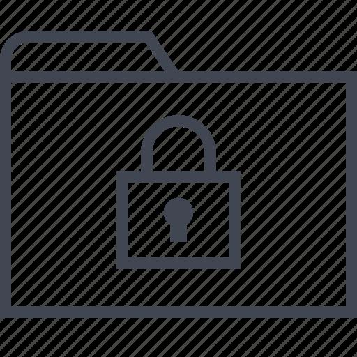 archive, files, folder, lock, safe icon