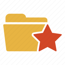 bookmark, document, extension, favorite, folder, like, star icon