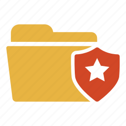 document, extension, folder, guard, protect, protection, safety icon