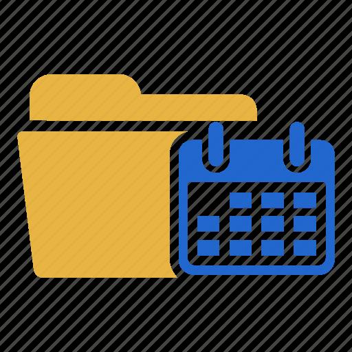 calendar, document, extension, folder, planner, reminder, schedule icon