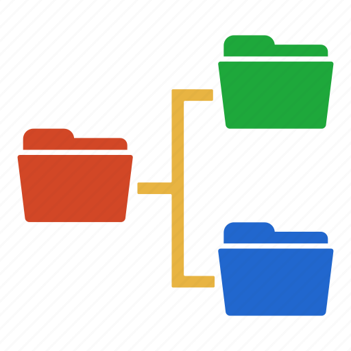 archive, data, document, extension, folder, forders, storage icon