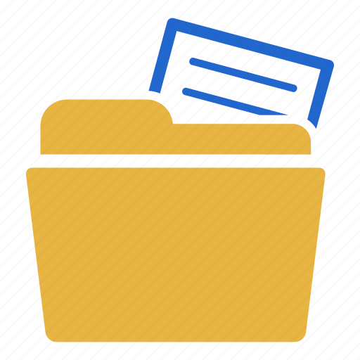 archive, data, document, folder, report, repository, storage icon