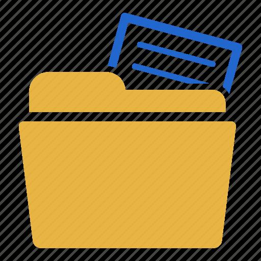 archive, data, document, folder, report, repository, storage icon