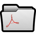 acrobat, adobe, folder, folders, pdf, reader icon