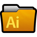 adobe, cs5, directory, documents, folder, illustrator icon