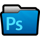adobe, cs5, directory, files, folder, photoshop icon