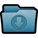 arrow, documents, download, folder, import, mac icon