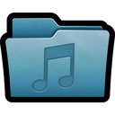 audio, folder, mac, mp3, multimedia, music, sound icon