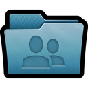 folder, mac, network, share icon