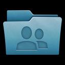 folder, mac, share, network icon