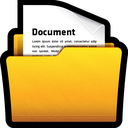 documents, folder, my, office, win icon