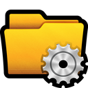 folder, gear, settings, win, control, documents, preferences icon