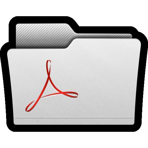 acrobat, adobe, folder, folders, pdf, reader icon