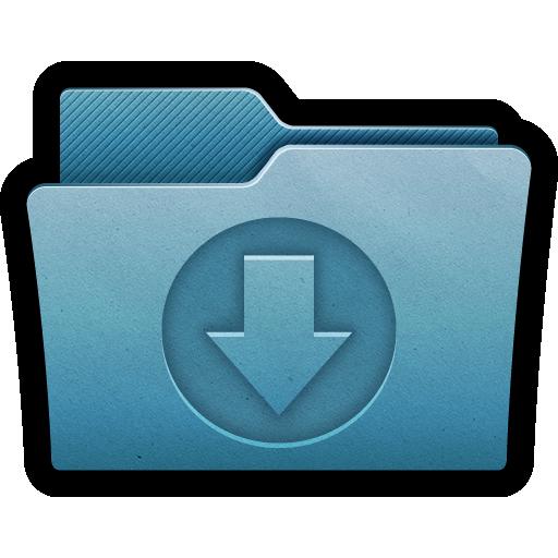 arrow, documents, download, folder, import, mac icon