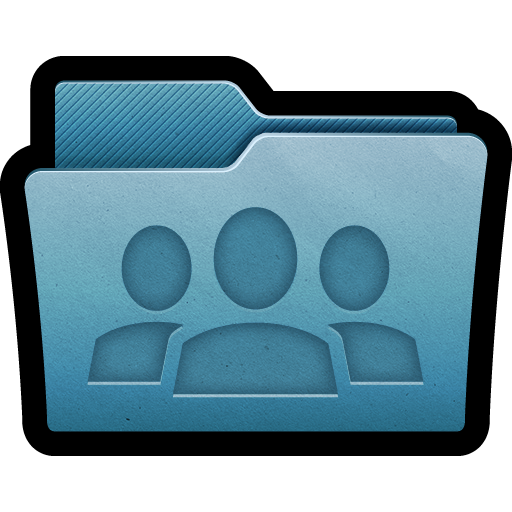 documents, folder, group, mac, team, users icon