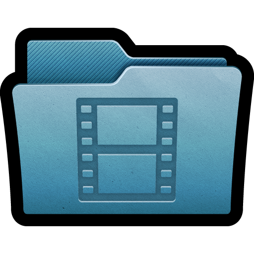 documents, films, folder, mac, movies, storage, videos icon