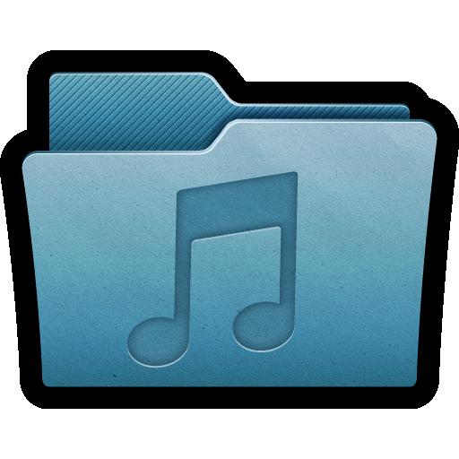 audio, folder, mac, mp3, multimedia, music, sound icon