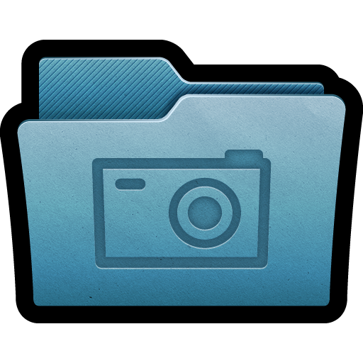 camera, folder, mac, photography, photos, picture, pictures icon