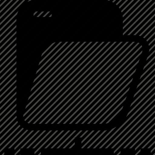 archives, folder, network folder icon