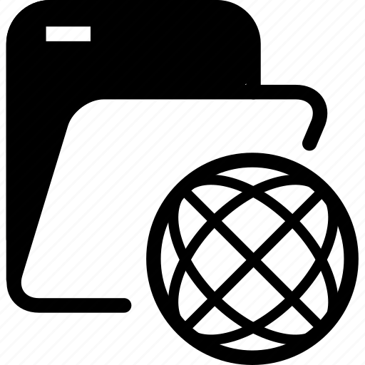 archives, folder, online folder icon