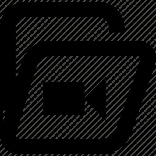 archives, folder, video folder icon