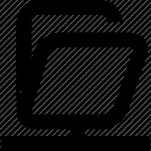 archives, folder, local network folder icon