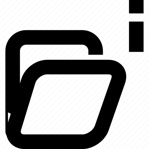 archives, folder, folder informations icon