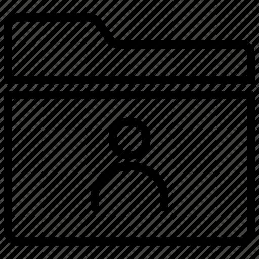 directory, private folder, user account, user folder icon
