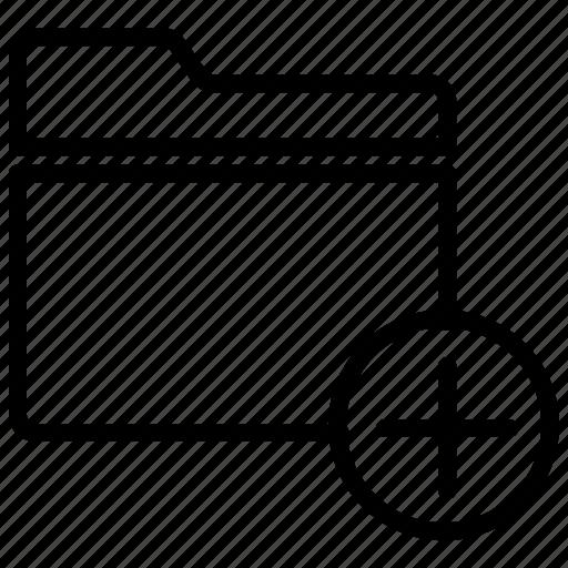 add document, add files, add folder, new folder icon