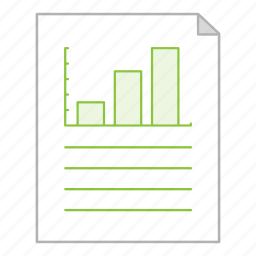 business, chart, document, file, office, presentation, report icon