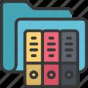 archive, folder, files, documents, archives