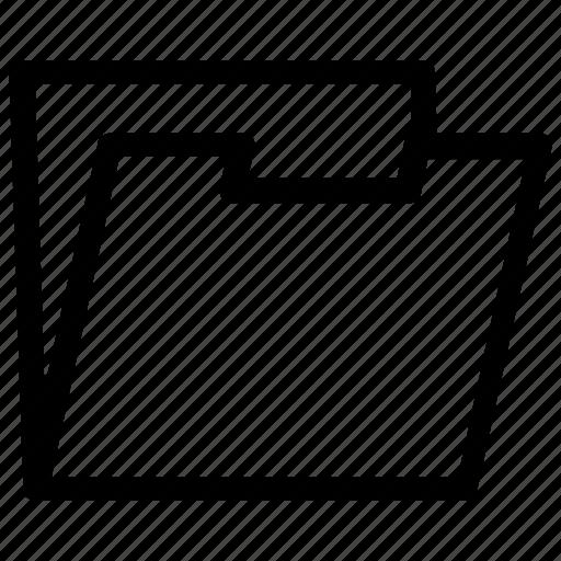 file, folder icon