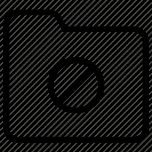 block, folder icon