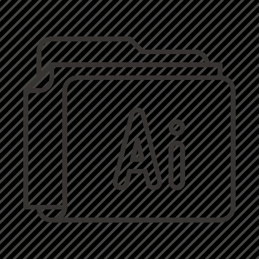 document, documents, file, files, folder, illustrator icon