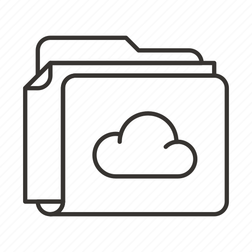 Cloud, document, documents, file, files, folder, upload icon - Download on Iconfinder