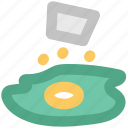 breakfast, egg, egg omelette, scrambled egg, shak fried egg icon