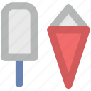 cake cone, cone, cup cone, ice cone, ice cream, ice lolly, popsicle icon