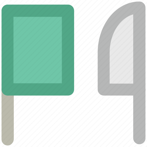 butcher equipment, butcher knife, chef knife, chopping knife, cleaver, knife icon