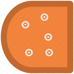 cheese, cheese portion, cheese slice, dairy food, food icon
