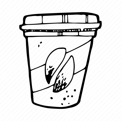 beverage, coffee, drink, hot, paper glass, to go icon