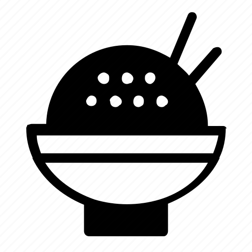 asian, bowl, food icon
