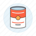 campbells, can, canned, food, meals, soup, tomato