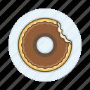 bakery, baking, food, doughnut, chocolate, donut, sweet