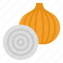 food, vegetable, meal, recipes, onion icon