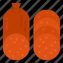 food, pepperoni, beef, salami, pork
