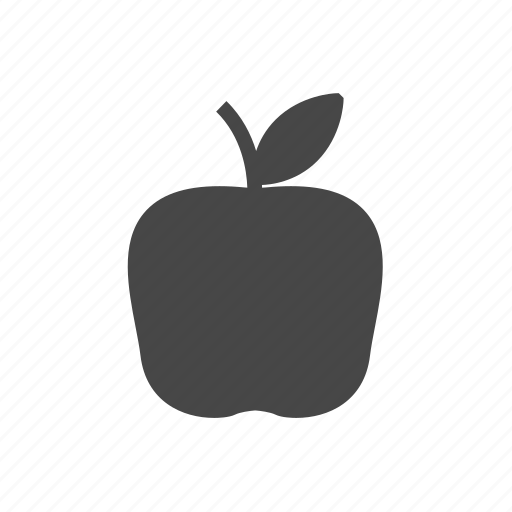 appel, food, fruit icon
